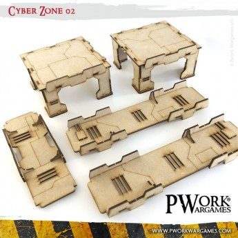 The Woodhouse - Modular Terrain Tiles 07