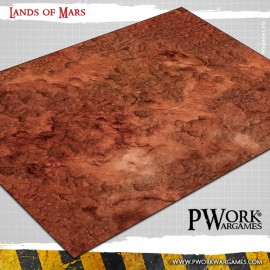 Wargames Terrain Mat - Roads of War