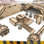 Ruined Complex - Scenery Set 09