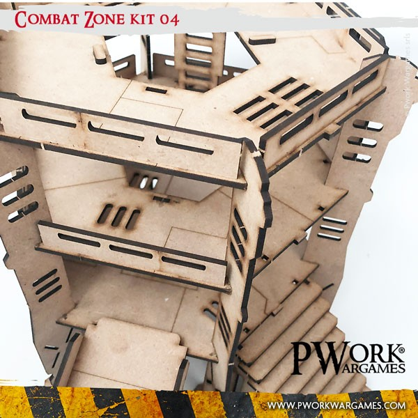 Ruined Building - Scenery Set 01