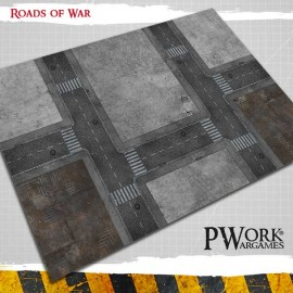 Wargames Terrain Mat - Operation Delta