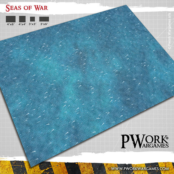 Seas of War - Wargames Terrain Mat