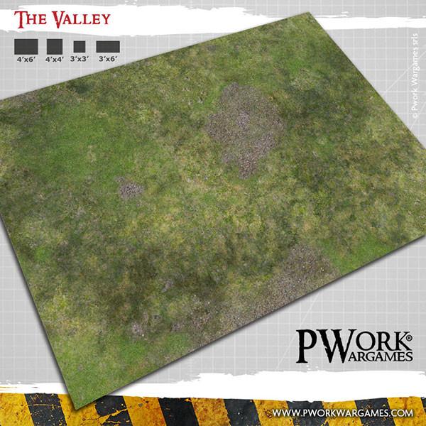 The Valley Wargames Terrain Mat