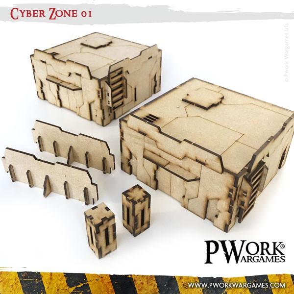 Cyber Zone 01 Mdf Terrain Scenery