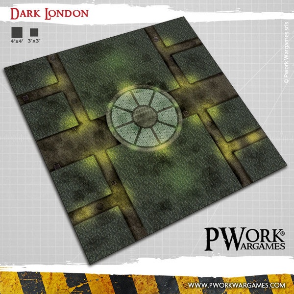 Dark London Wargames Terrain Mat
