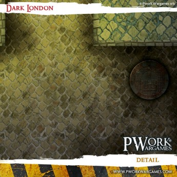 Dark London - Wargames Terrain Mat