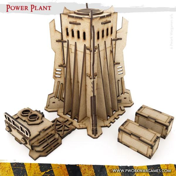 Warhammer 40k terrain 2x Small Power Generator