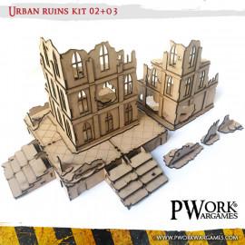 Pwork Wargames - scenery terrain and wargaming miniature 28 mm mdf
