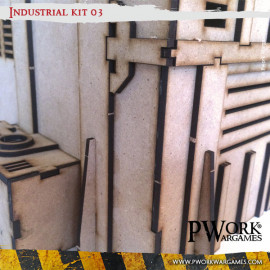 Industrial 03 - MDF Terrain Scenery