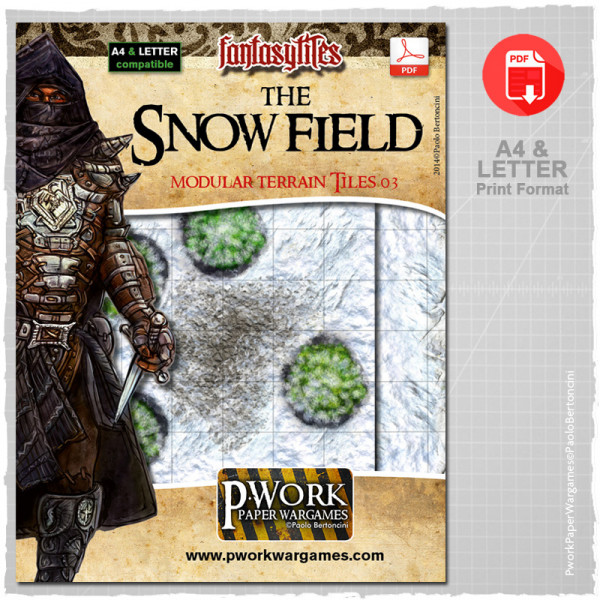 The Snow Field - RPG Terrain Tiles