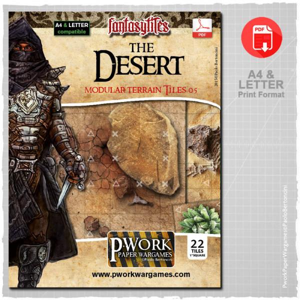 The Desert - RPG Terrain Tiles