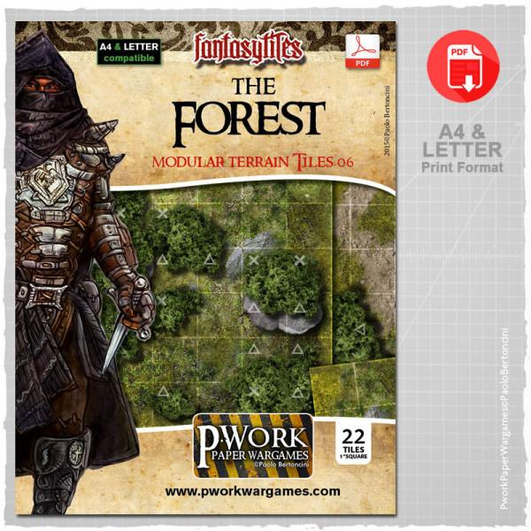 The Forest - RPG Terrain Tiles