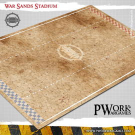 War Sands Stadium Fantasy Football Mat