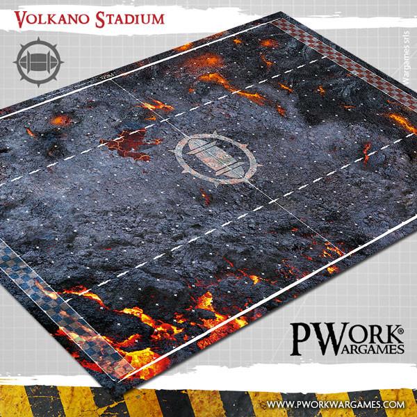 Volkano Stadium Fantasy Football Mat