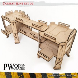 Pwork Wargames - scenery terrain and wargaming miniature 28 mm mdf