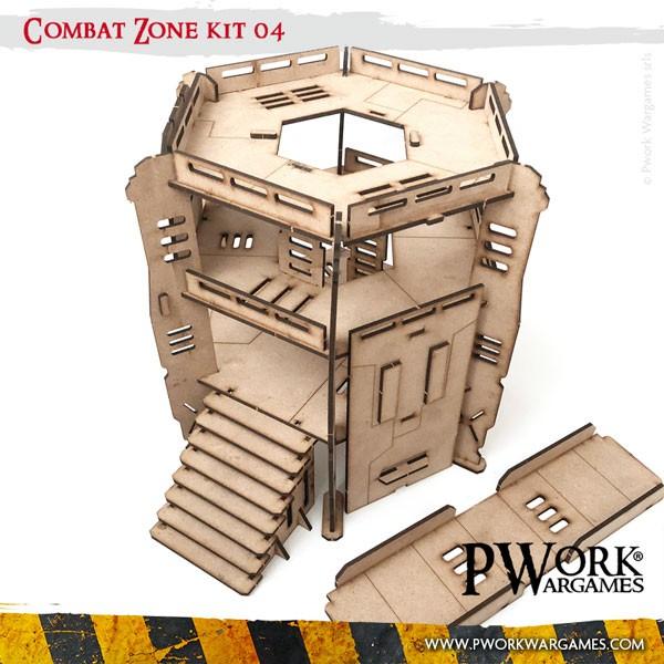 Combat Zone 04 - MDF Terrain Scenery