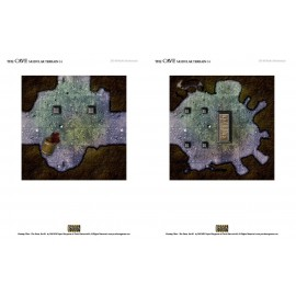 The Cave Rpg Terrain Tiles