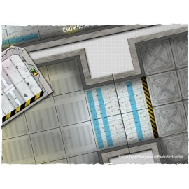 Colonial Starbase Set 04 Rpg Terrain Tiles