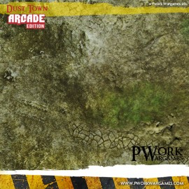 Dust Town Arcade Edition Wargames Game Mats