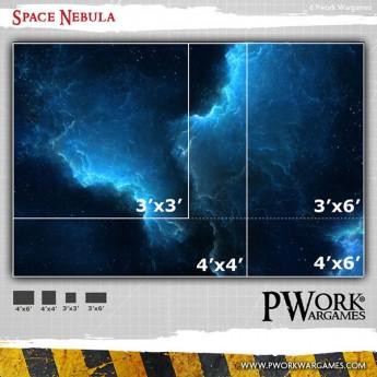 Space Nebula - Wargames Terrain Mat