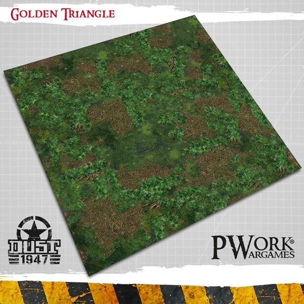 Golden Triangle Dust 1947 Wargames Terrain Mat