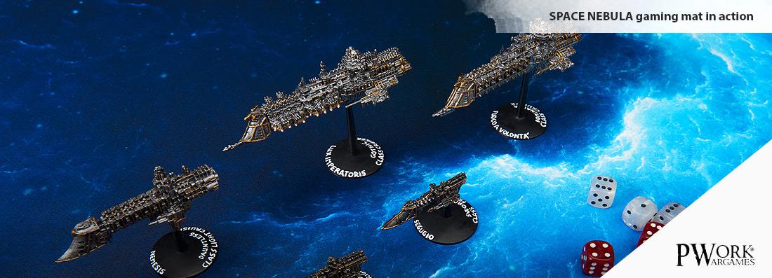 Space Nebula Wargames Terrain Mat