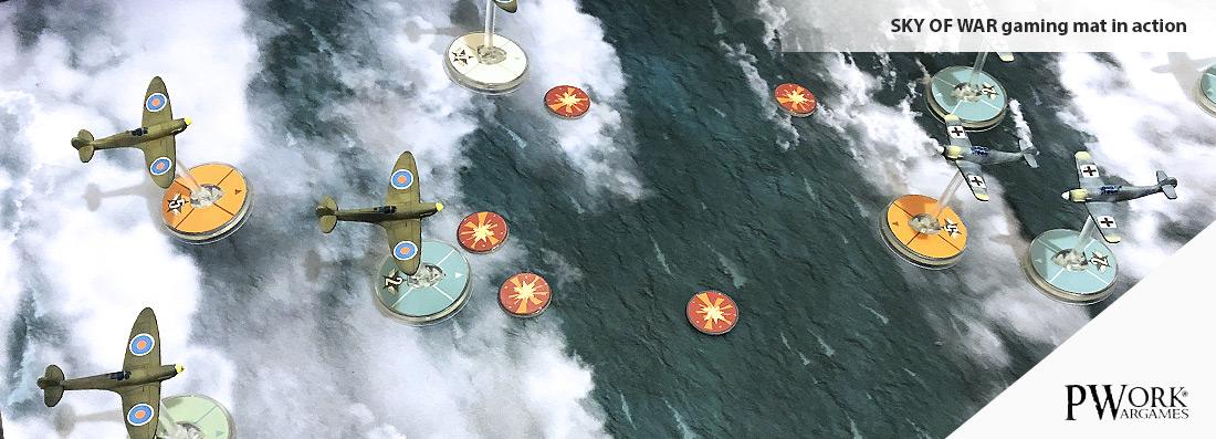 Sky of War - Wargames Terrain Mat