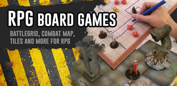 Pwork Wargames - Role Playing Game Accessories - rewritable